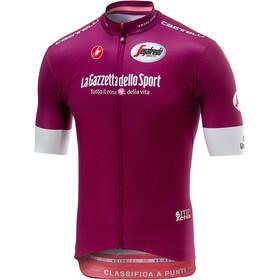 Castelli Giro Squadra Kortärmad cykeltröja Herr pink